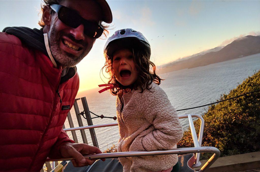 Carry kids by Yuba Cargo Bike
