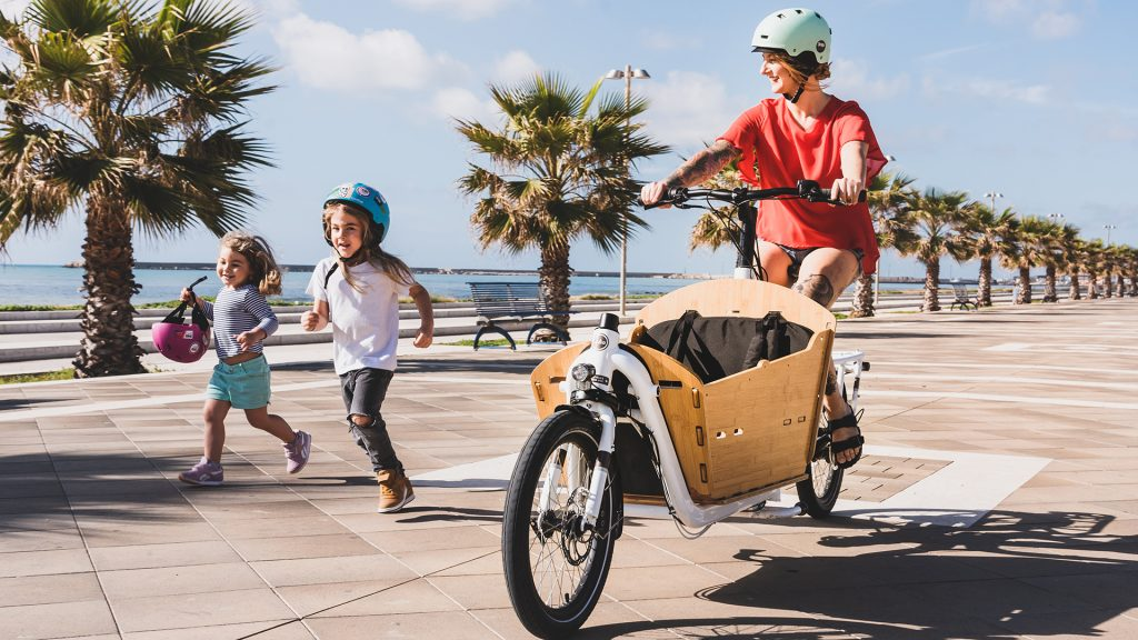 Yuba Electric Supemarche Front Loader Cargo Bike