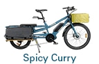 Card Yuba Bikes Spicy Curry Blue bread