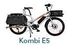 Card Yuba Bikes Kombi E5 Silver Bread