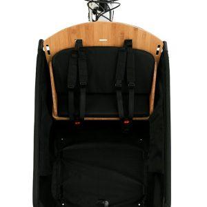 Open loader seat