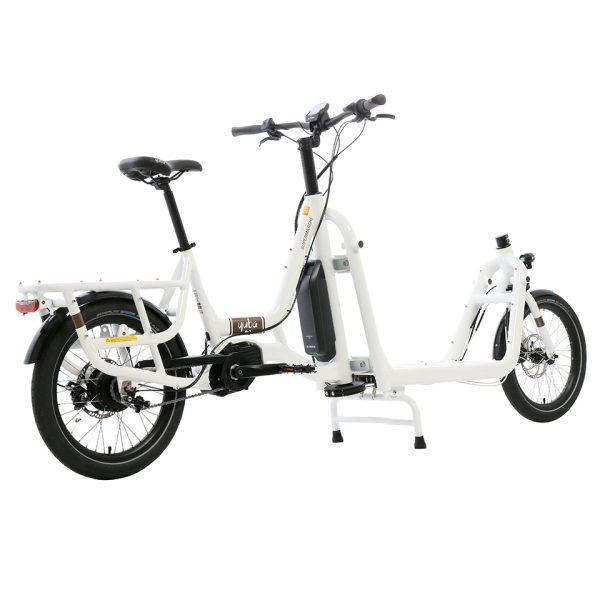 Yuba Cargo Bikes Electric Super White nude