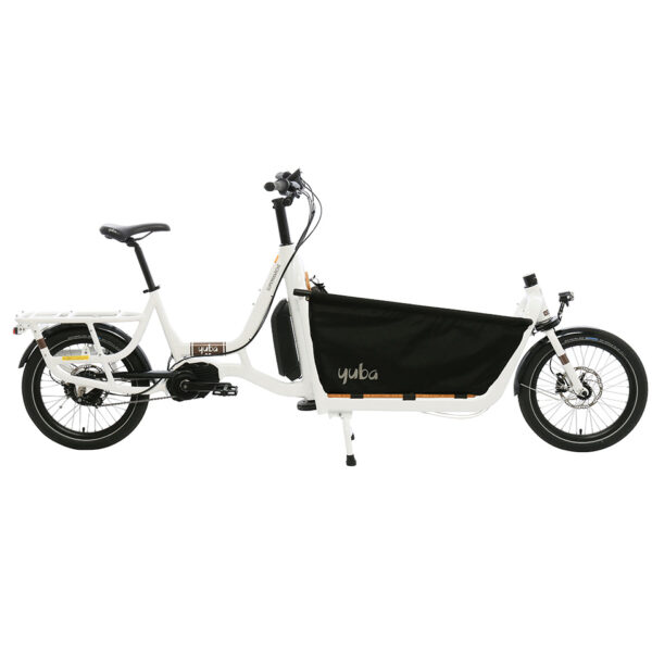 Yuba Cargo Bikes Electric Super White Seat Kit Eu