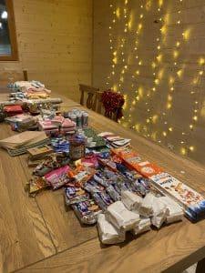 Table Christmas Boxes